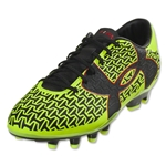 Under Armour CF Force 2.0 FG (High-Vis Yellow/Rocket Red/Black)