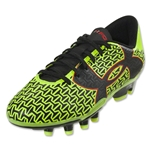 Under Armour CF Force 2.0 FG Junior (High-Vis Yellow/Rocket Red/Black)