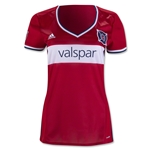 Chicago Fire 2016 Womens Home Soccer Jersey