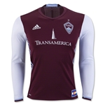 Colorado Rapids 2016 LS Authentic Home Soccer Jersey
