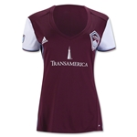 Colorado Rapids 2016 Women's Home Soccer Jersey