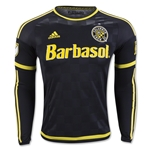 Columbus Crew 2016 LS Authentic Home Soccer Jersey