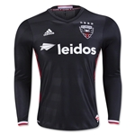 DC United 2016 Authentic LS Home Soccer Jersey