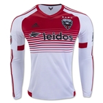 DC United 2016 LS Authentic Away Soccer Jersey