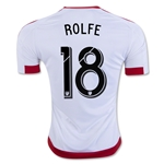 DC United 2016 ROLFE Away Soccer Jersey