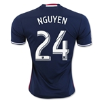 New England Revolution 2016 NGUYEN Home Soccer Jersey