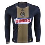 Philadelphia Union 2016 LS Authentic Home Soccer Jersey