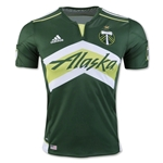 Portland Timbers 2016 Authentic Home Soccer Jersey