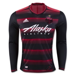 Portland Timbers 2016 LS Authentic Home Soccer Jersey