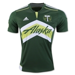Portland Timbers 2016 Home Soccer Jersey
