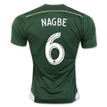 Portland Timbers 2016 NAGBE Home Soccer Jersey