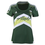 Portland Timbers 2016 Womens Home Soccer Jersey