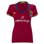Real Salt Lake 2016 Women's Home Soccer Jersey