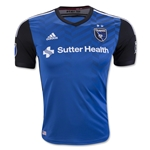 San Jose Earthquakes 2016 Authentic Home Soccer Jersey