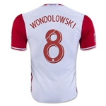 San Jose Earthquakes 2016 WONDOLOWSKI Authentic Away Soccer Jersey