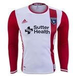 San Jose Earthquakes 2016 LS Authentic Away Soccer Jersey
