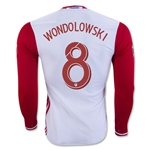 San Jose Earthquakes 2016 WONDOLOWSKI LS Authentic Away Soccer Jersey