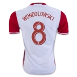 San Jose Earthquakes 2016 WONDOLOWSKI Away Soccer Jersey