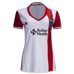 San Jose Earthquakes 2016 Womens Away Soccer Jersey