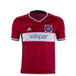 Chicago Fire 2016 Youth Home Soccer Jersey