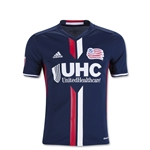 New England Revolution 2016 Youth Home Soccer Jersey