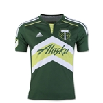 Portland Timbers 2016 Youth Home Soccer Jersey