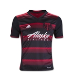 Portland Timbers 2016 Youth Away Soccer Jersey