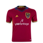 Real Salt Lake 2016 Youth Home Soccer Jersey