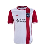San Jose Earthquakes 2016 Youth Away Soccer Jersey