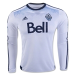 Vancouver Whitecaps 2016 LS Authentic Home Soccer Jersey
