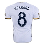 LA Galaxy 2016 GERRARD Authentic Home Soccer Jersey