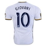 LA Galaxy 2016 GIOVANI Authentic Home Soccer Jersey