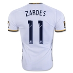 LA Galaxy 2016 ZARDES Authentic Home Soccer Jersey