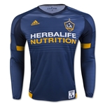 LA Galaxy 2016 LS Authentic Away Soccer Jersey