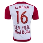 New York Red Bulls 2016 KLJESTAN Authentic Home Soccer Jersey