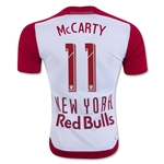 New York Red Bulls 2016 MCCARTY Authentic Home Soccer Jersey