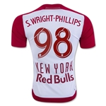 New York Red Bulls 2016 S.WRIGHT-PHILLIPS Authentic Home Soccer Jersey