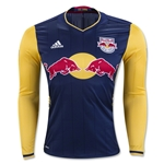 New York Red Bulls 2016 LS Authentic Away Soccer Jersey