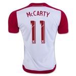 New York Red Bulls 2016 MCCARTY Home Soccer Jersey