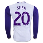 Orlando City SC 2016 SHEA LS Authentic Away Soccer Jersey