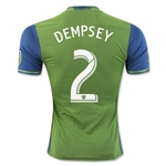 Seattle Sounders 2016 DEMPSEY Authentic Home Soccer Jersey