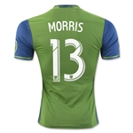 Seattle Sounders 2016 MORRIS Authentic Home Soccer Jersey