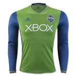 Seattle Sounders 2016 LS Authentic Home Soccer Jersey