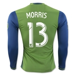 Seattle Sounders 2016 MORRIS LS Authentic Home Soccer Jersey