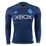Seattle Sounders 2016 LS Authentic Third Soccer Jersey