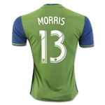 Seattle Sounders 2016 MORRIS Home Soccer Jersey