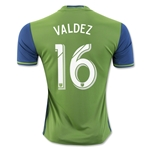 Seattle Sounders 2016 VALDEZ Home Soccer Jersey