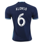 Seattle Sounders 2016 ALONSO Third Soccer Jersey