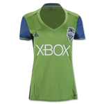 Seattle Sounders 2016 Womens Home Soccer Jersey