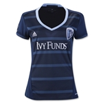 Sporting KC 2016 Women's Away Soccer Jersey